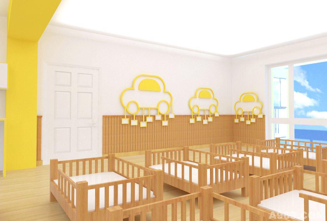 幼儿园睡眠室