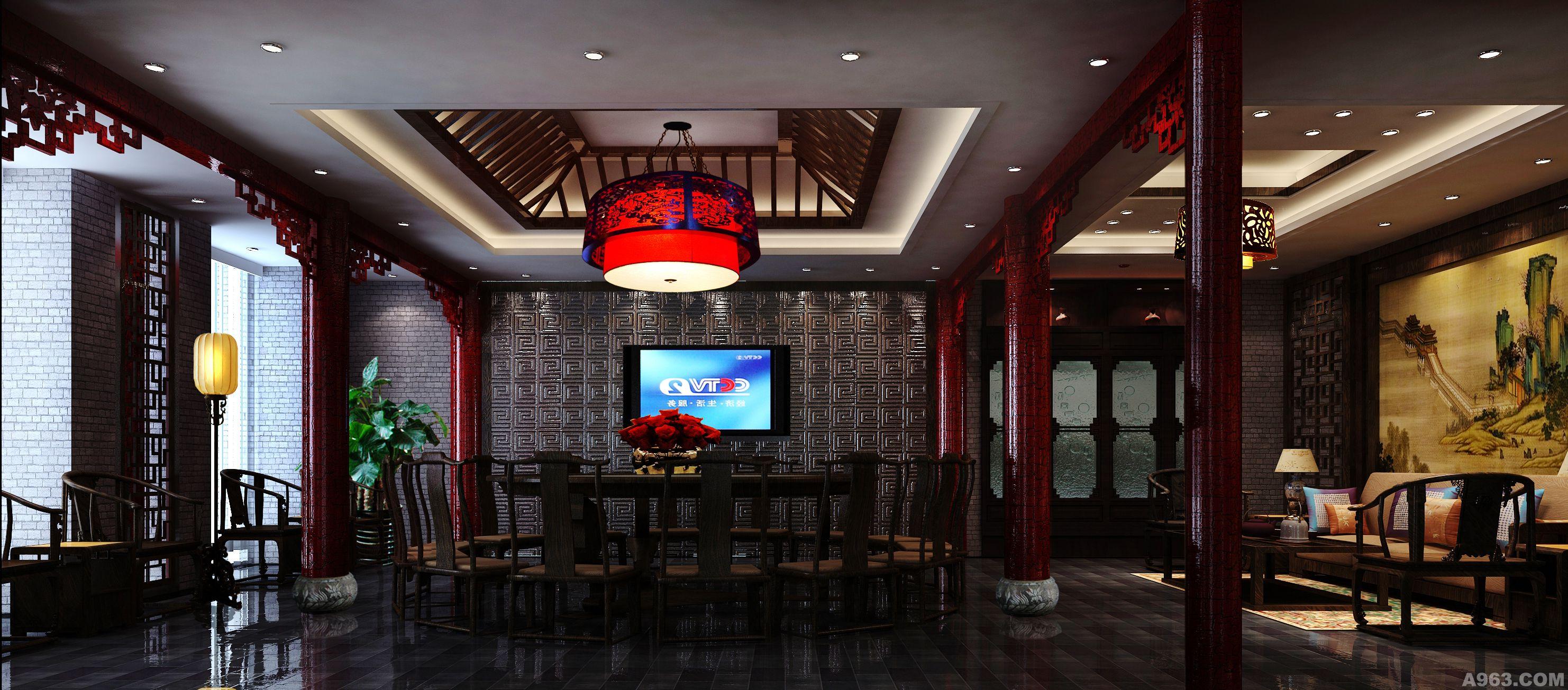 新中式饭店部分改找造设计