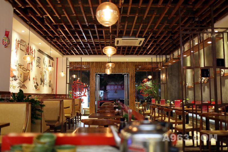 青岛秦岛人家餐厅装修设计说明