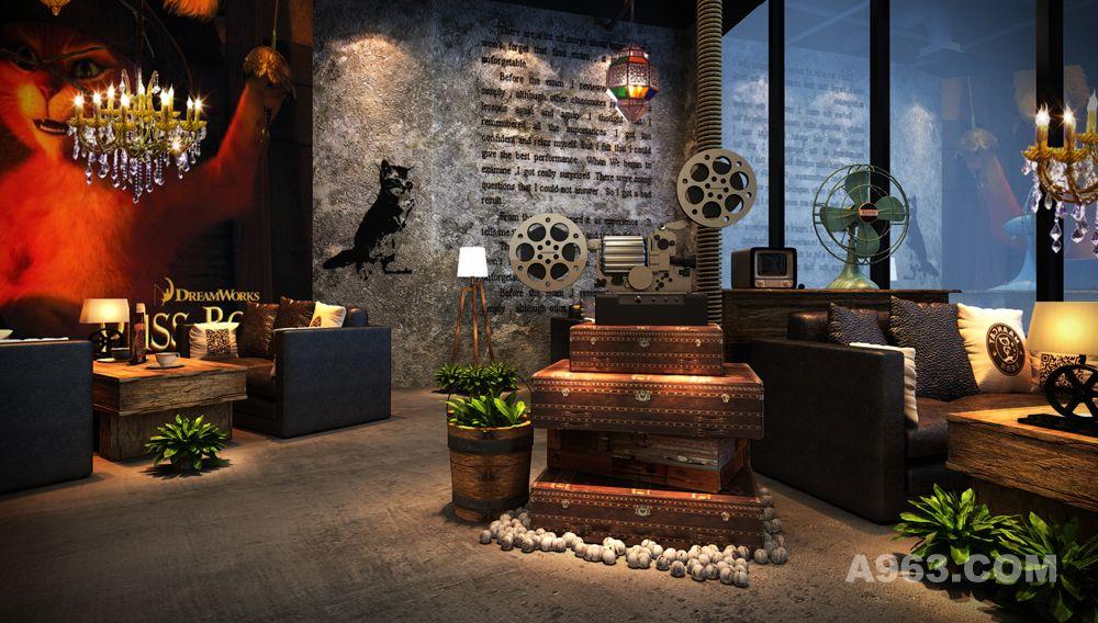 镇宁路咖啡店 - 餐饮空间 - 谢作钻设计作品案例