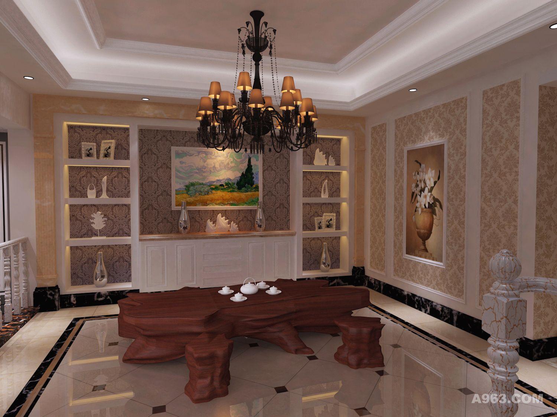 茶室一楼平面设计图