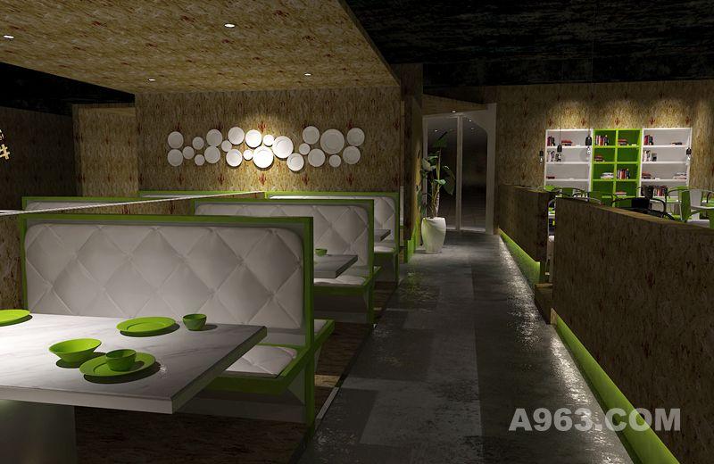揽季小鱼小牛时尚餐厅设计 主题餐厅设计 餐厅设计 快时尚餐厅设计 中