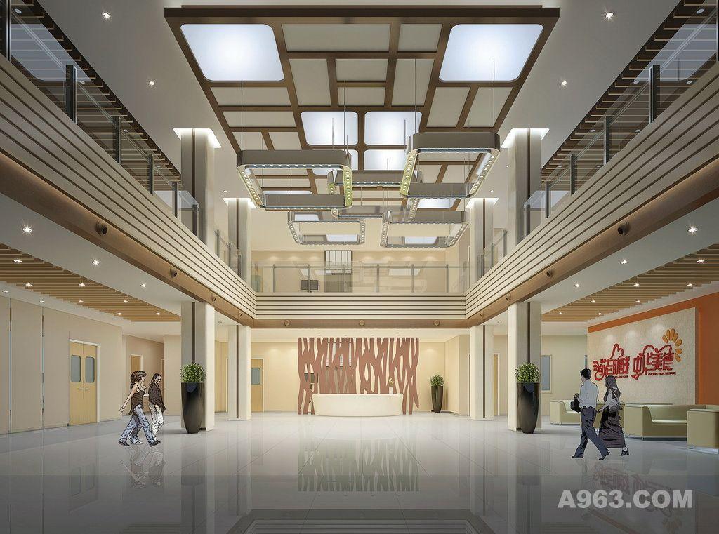 养老院设计案例效果图 - 医疗空间 - 真情九三设计