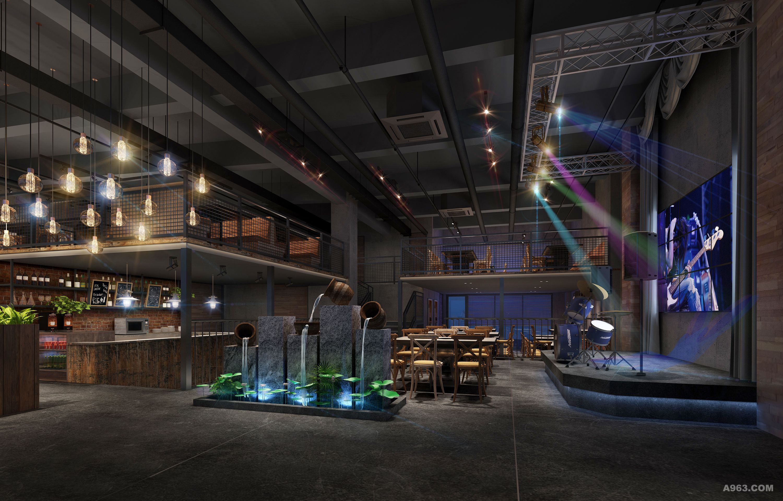 会合点 音乐主题餐厅 - 餐饮空间 - 刘国斌设计作品