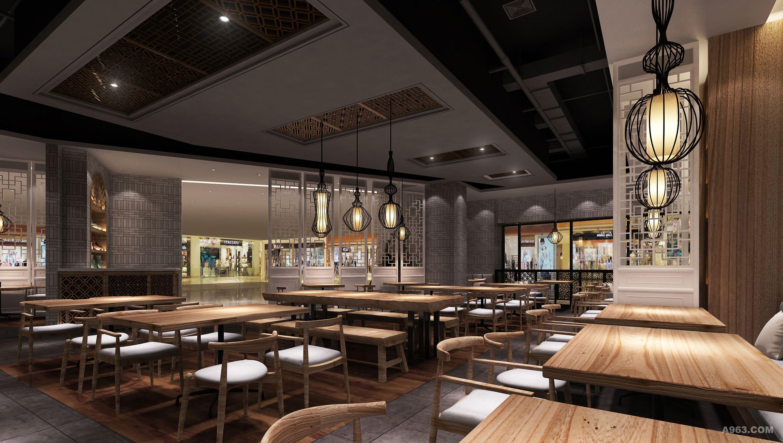 滋味涮 餐饮空间设计说明