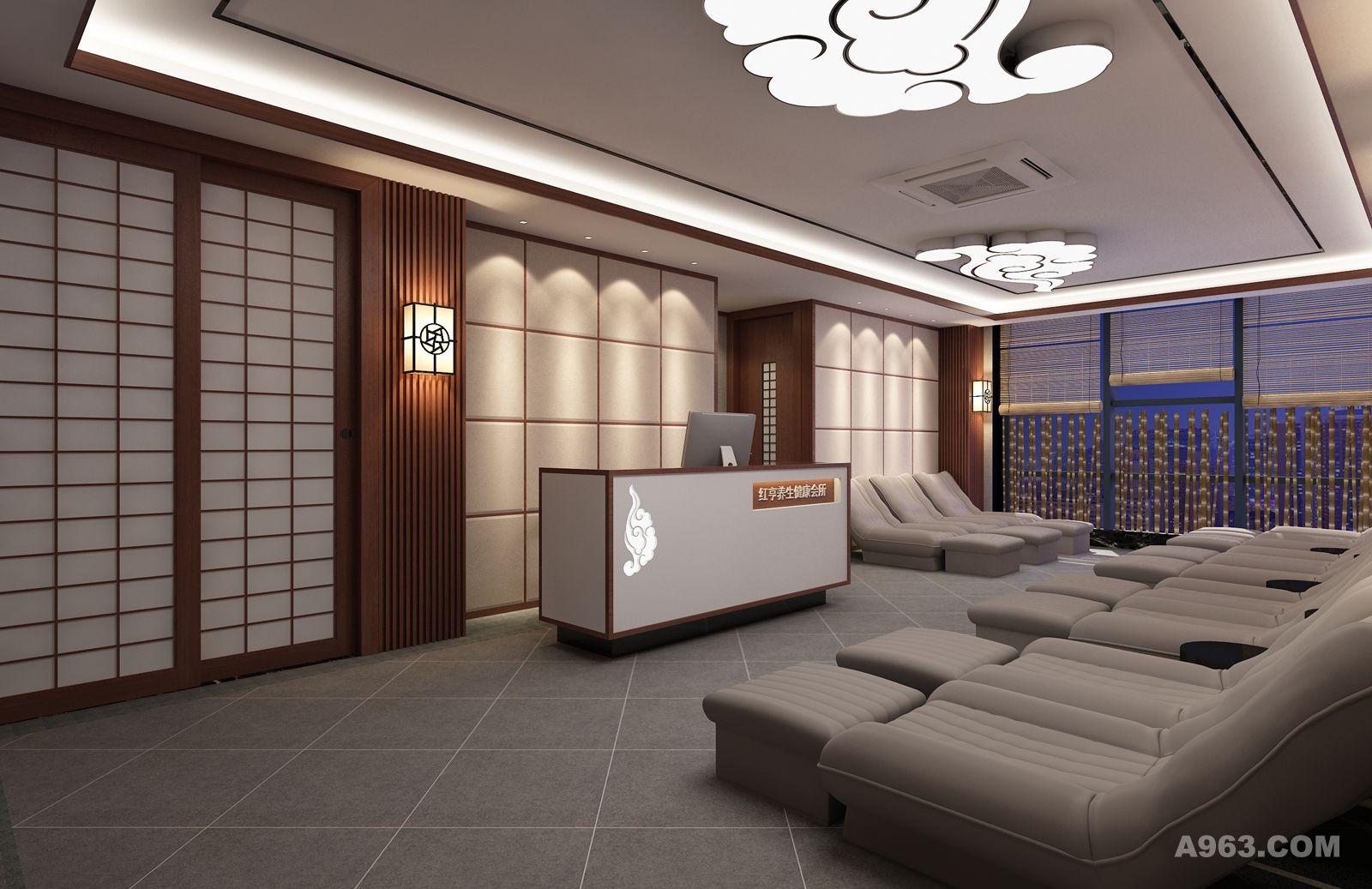 日式美容海报素材