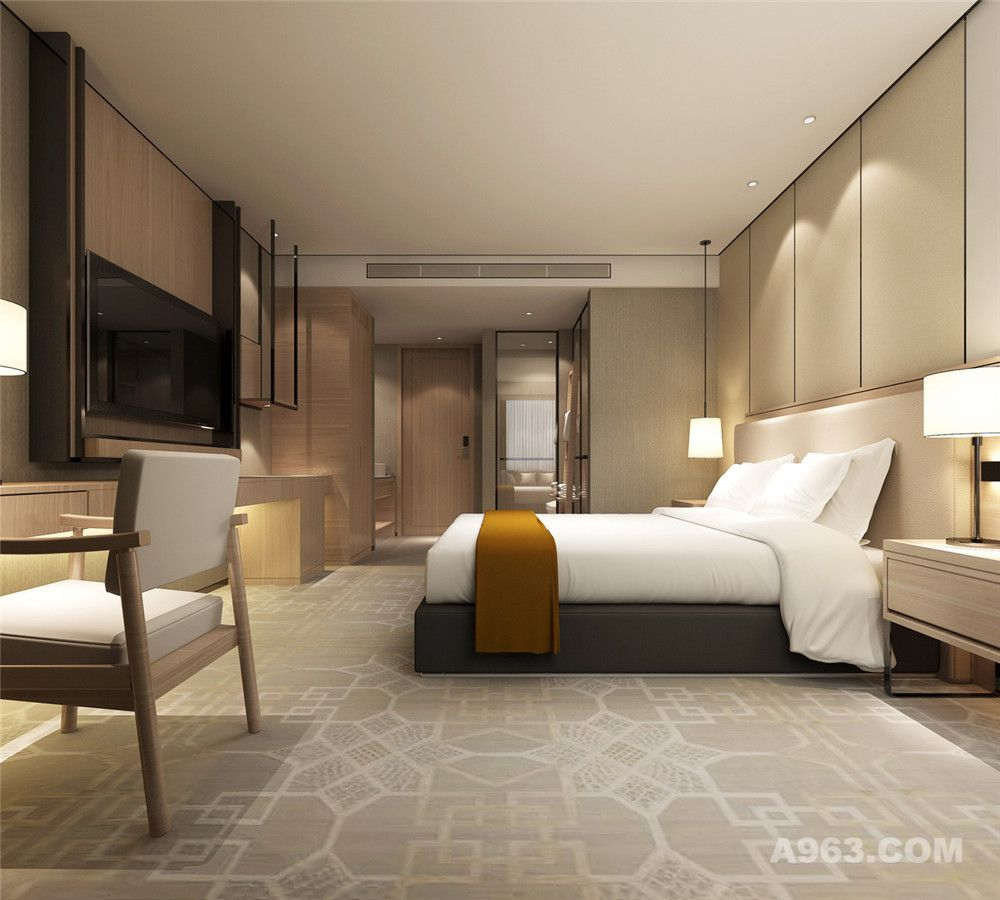 洛阳商务酒店设计公司-洛阳尚悦图宁精品商务酒店设计