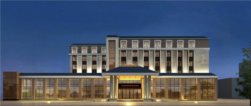 新乡近园新中式精品酒店设计方案-勃朗酒店设计顾问公司