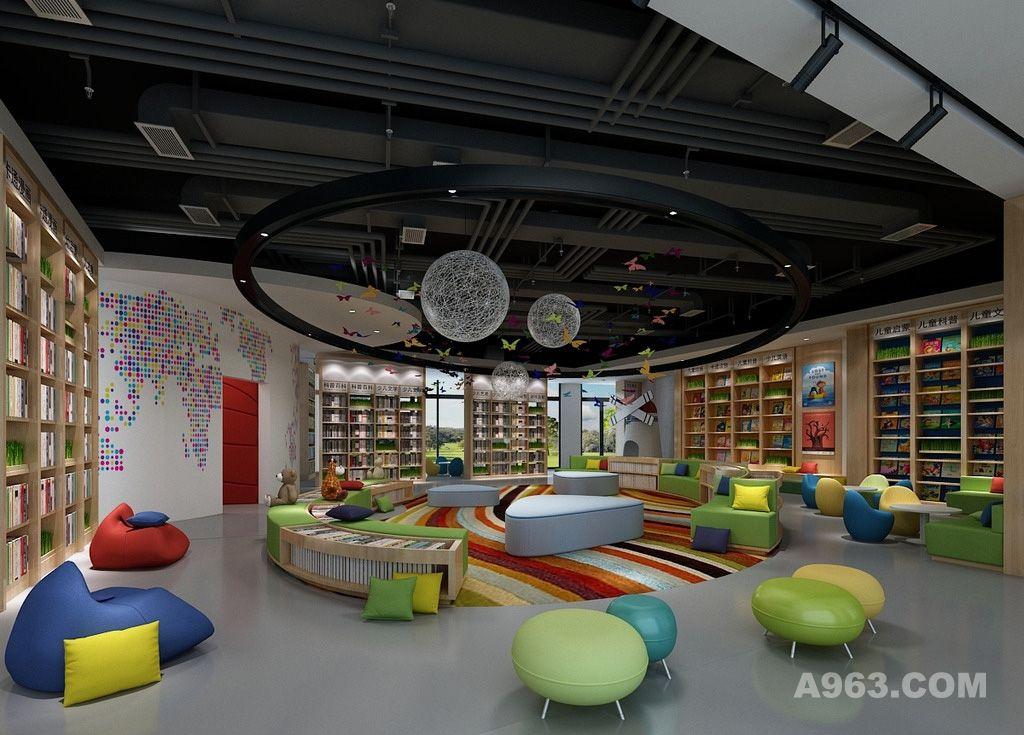 童活动室_儿童活动室设计案例效果图