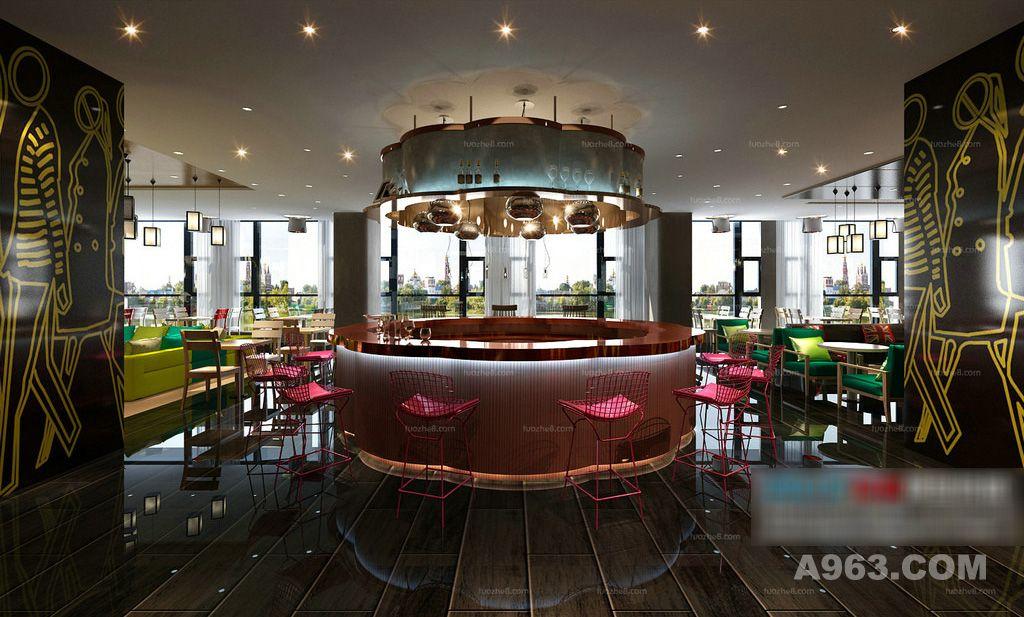 咖啡厅 西餐厅 餐厅餐饮 咖啡厅夜景 商务咖啡休闲 美食 西餐请输入图片说明