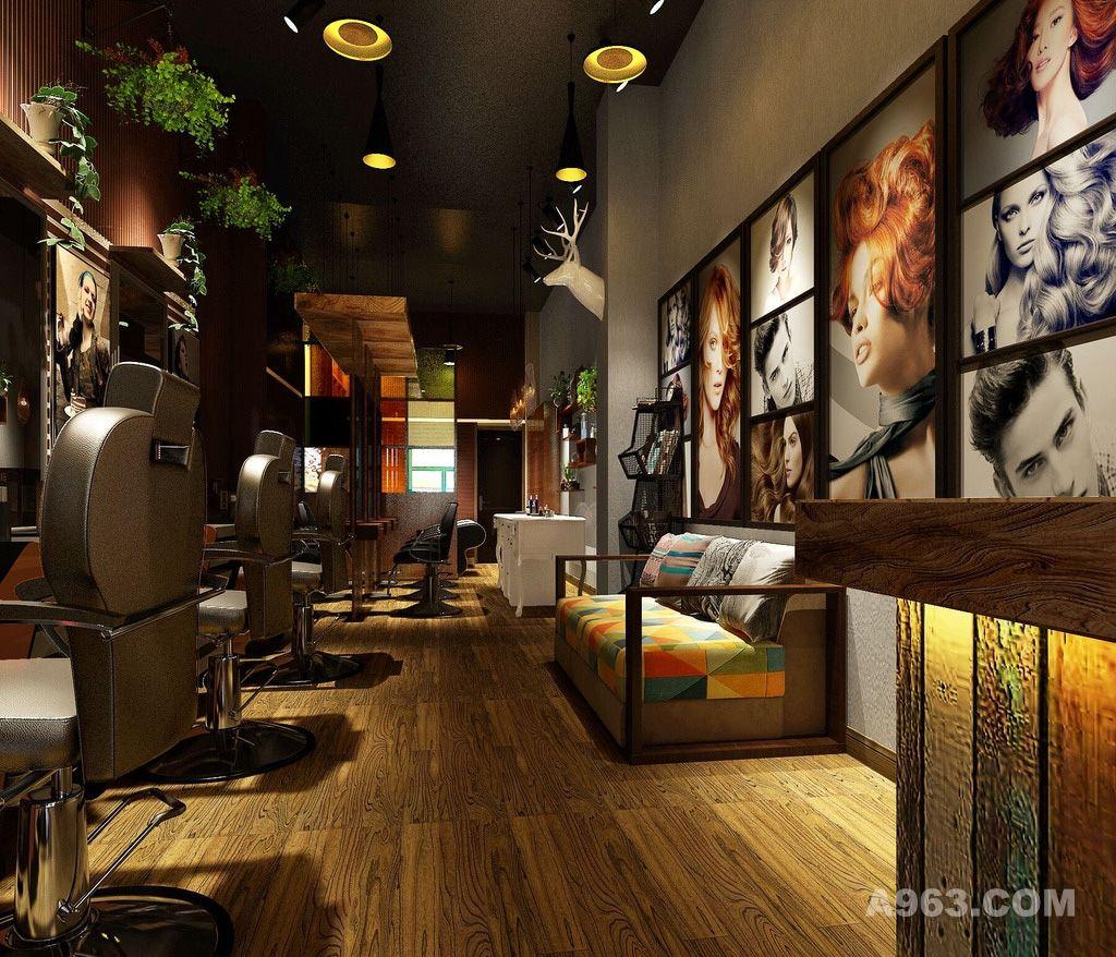 创意理发店 理发店连锁 理发店设计 理发店环境 理发店装修 美容美发